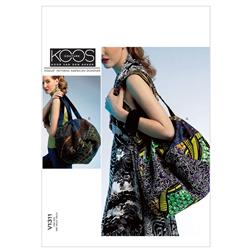 Vogue Bags Pattern V1311 Size OSZ