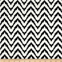 ITY Knit Chevron Black/Cream