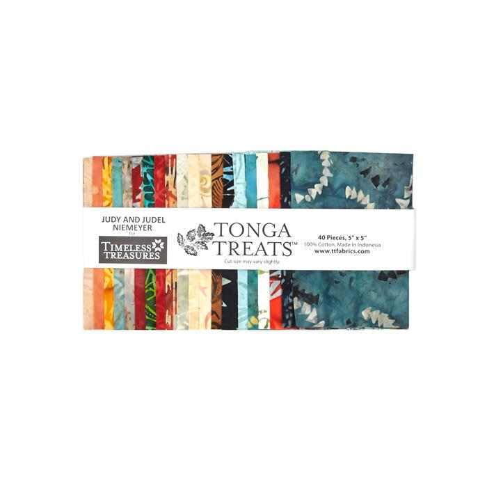 Timeless Treasures Tonga Batik Citrus 5