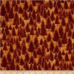 Mountain Elk Pine Trees Nutmeg