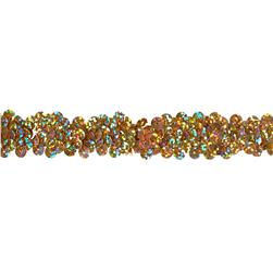 Team Spirit 3/4'' #30 Sequin Trim Gold Spot