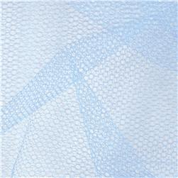 Nylon Netting Cotillion Blue Fabric