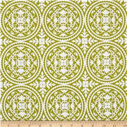 Joel Dewberry True Colors Scrollwork Green Fabric