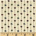 Downton Abbey Lady Mary String Dots Tan