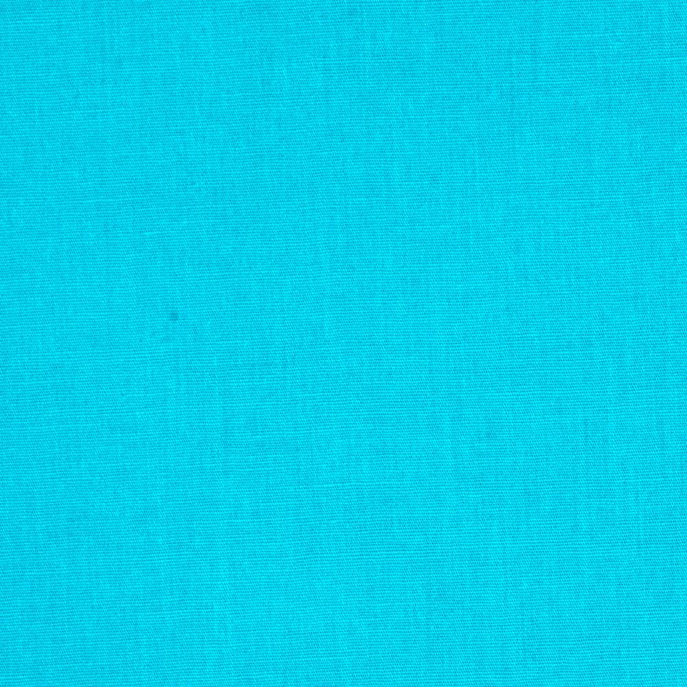 Stretch Cotton Poplin Turquoise