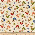 Bird Song Baby Chicks Cream/Multi