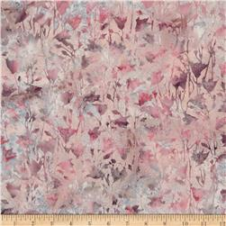 Bali Batiks Handpaints Pressed Flowers Blush