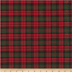 Holiday Blitz Small Plaid Red/Green Fabric