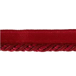 "Mariel 1/4"" Decorative Lip Cord Trim Berry"