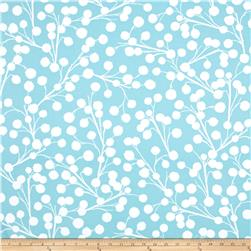 Joel Dewberry Cali Mod Home Decor Sateen Twill Chestnut Branch Aqua