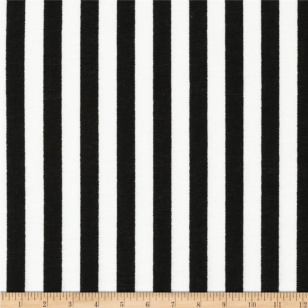 Basic Training Stripe Black/White