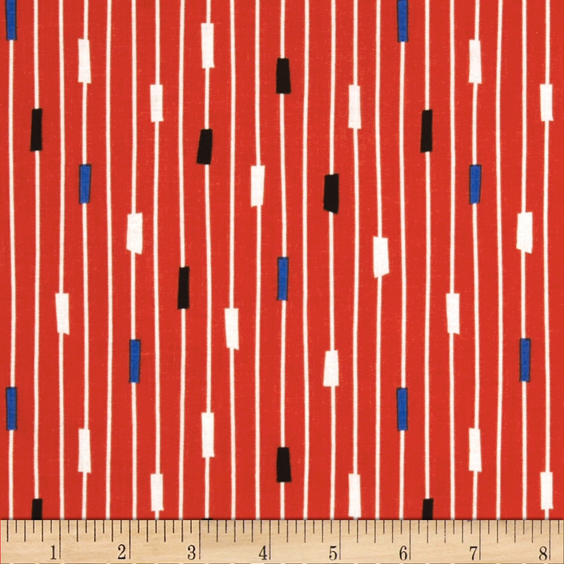 Michael Miller Retro String Theory Clementine Fabric
