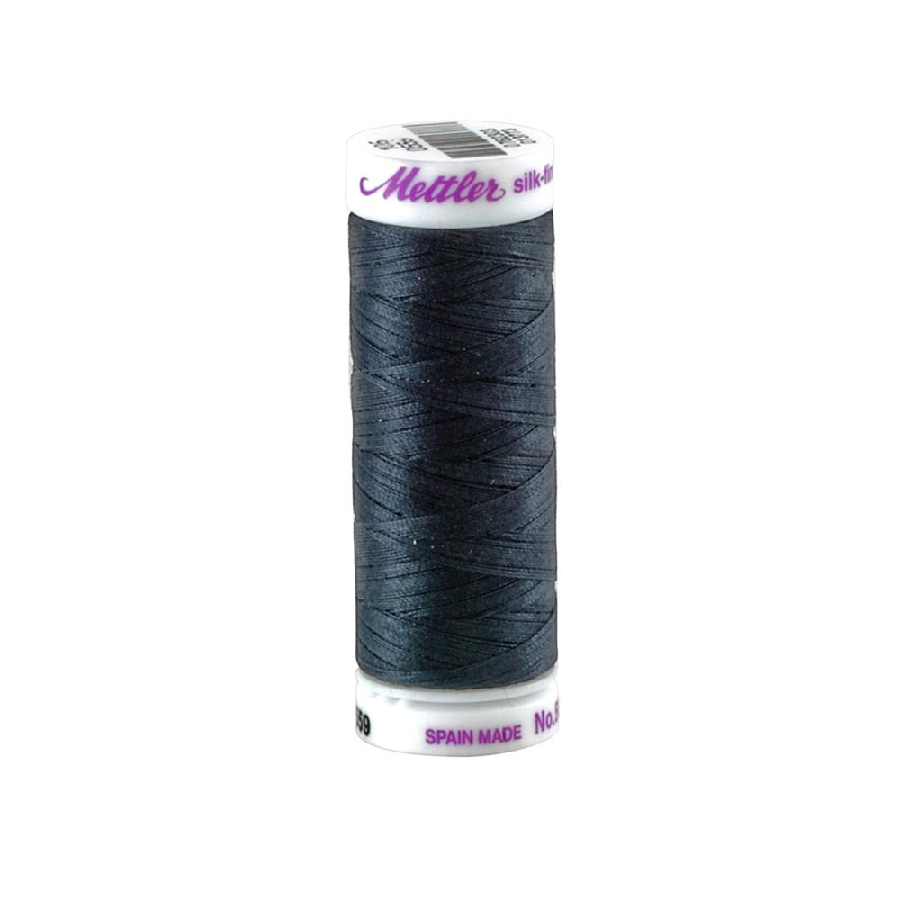 Mettler Cotton All Purpose Thread Black Sapphire