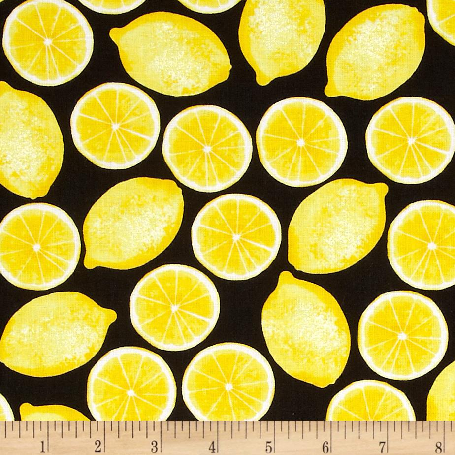Kanvas Maine Attractions Lemons On Black