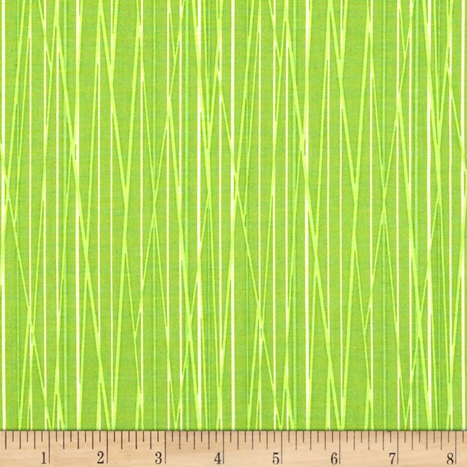 Cats Bats & Vats Stripe Green