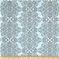 Modern Eclectic Modern Lace Blue