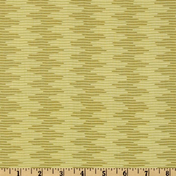 City Girl Wavy Stripe Yellow/Green