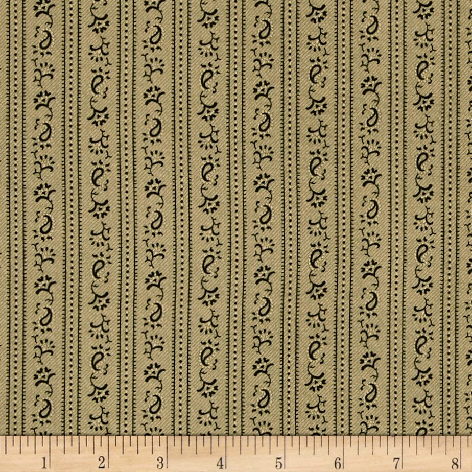 Molly B's Borders & Florals Hunter Green/Beige