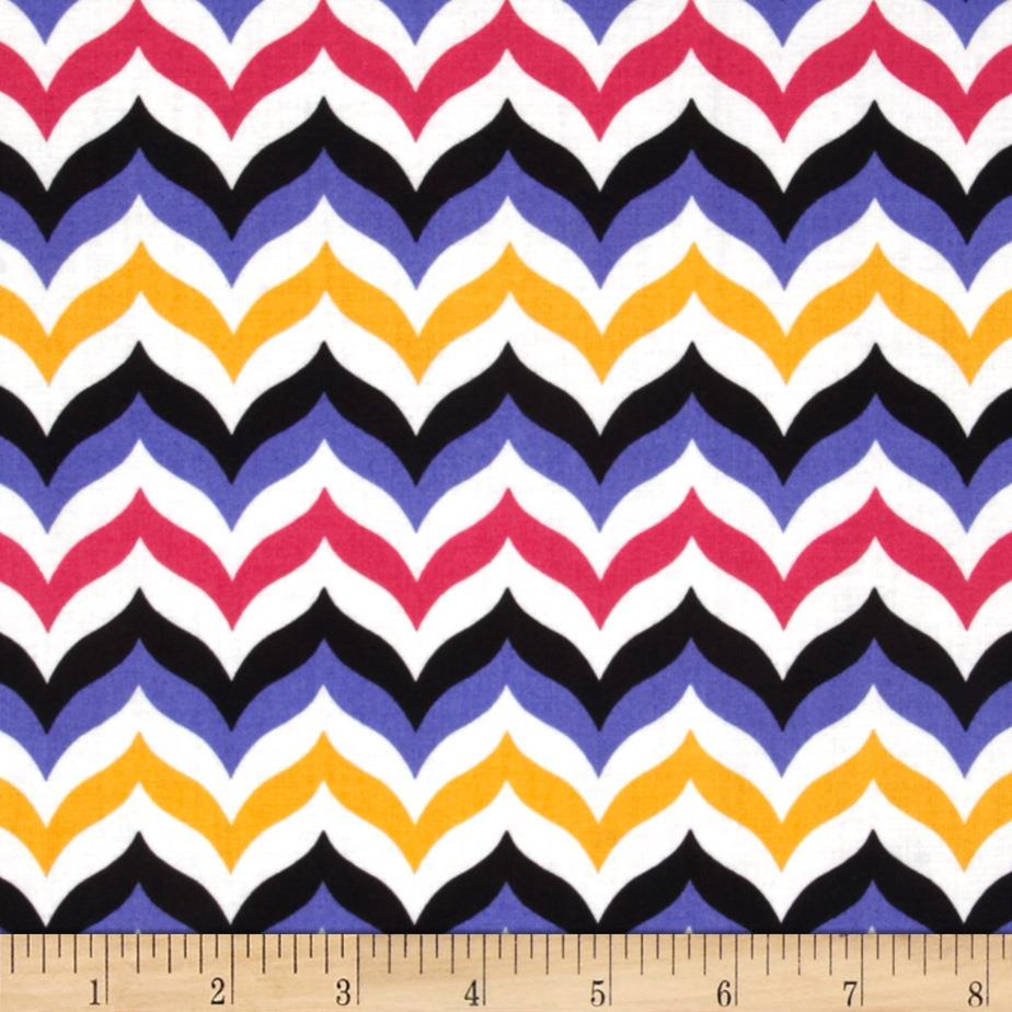 Let's Play Dolls Chevron Pink