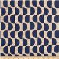 Scott Living Dome Basketweave Orson Navy Belgian