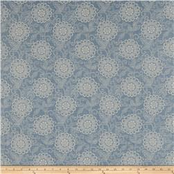 French General Tournesal Linen Bleu