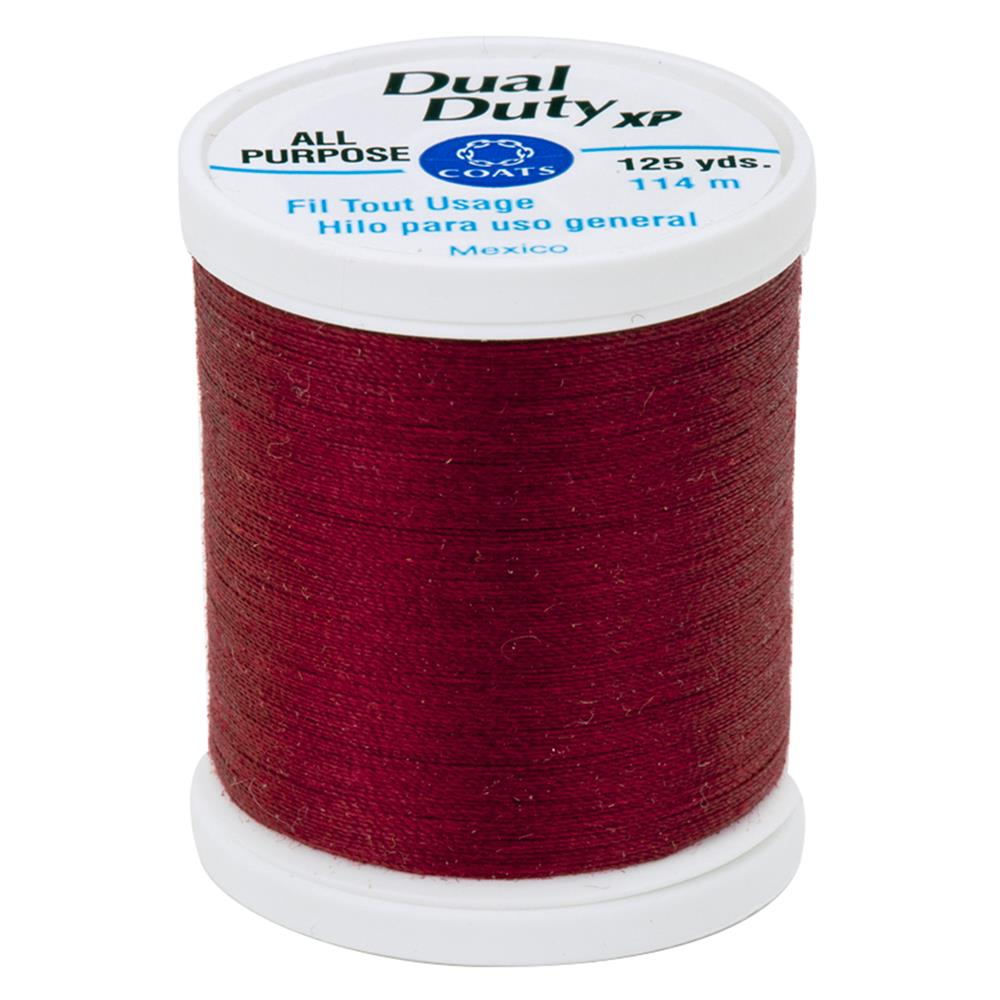 Coats & Clark Dual Duty XP 125yd Barberry Red