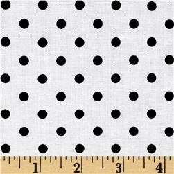 Riley Blake Dot & Dash Dots White
