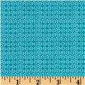 Piccadilly Mini Grid Turquoise