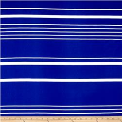 Liverpool Double Knit Multi Stripe Royal