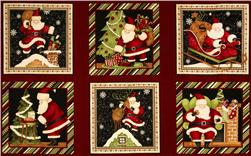 Rooftop Santas Craft Panel Multi