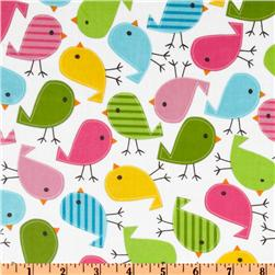 Urban Zoologie Slicker Laminated Cotton Chicks Garden