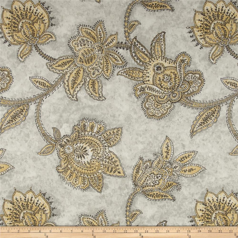 Richloom Tazzoni Jacobean Yellow/Grey