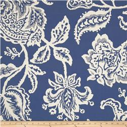 Robert Allen @ Home Jacobean Toss Jacquard Indigo