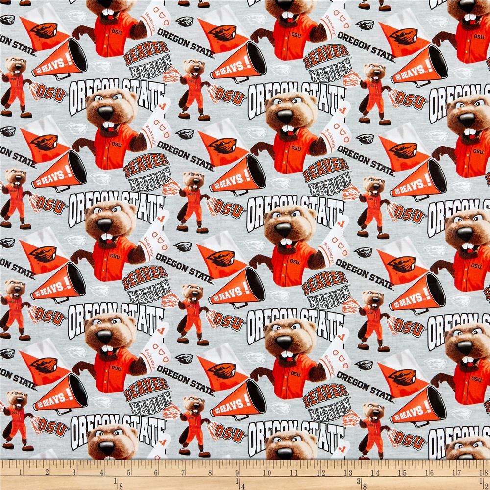 Sykel Enterprises NCAA Oregon State Collegiate Check TEAM COLOR Fabric by the Yard