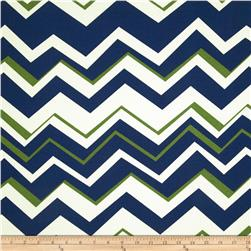 Richloom Solarium Outdoor Tempest Navy Home Decor Fabric