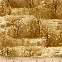 Wild Pheasants Trees Tan