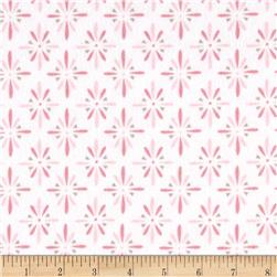 Cloud 9 Organic Flannel Burst Pink