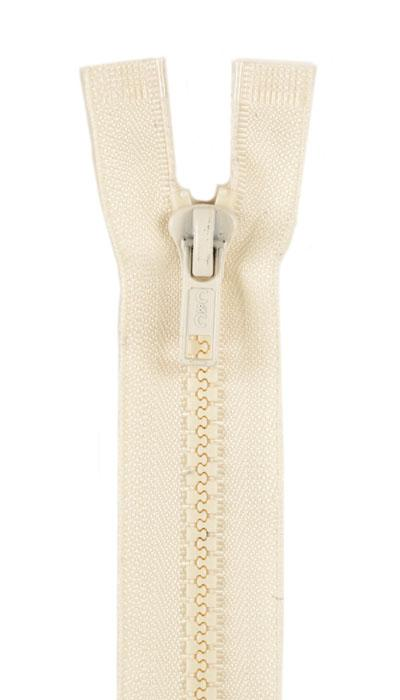 "Sport Separating Zipper 18"" Natural"