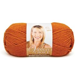 Lion Brand Vanna's Choice Yarn (135) Rust