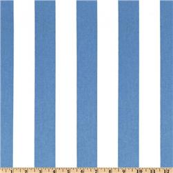 Premier Prints Canopy Stripe Baby Blue Fabric
