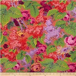 Kaffe Fassett Collective Earth Lilac Red