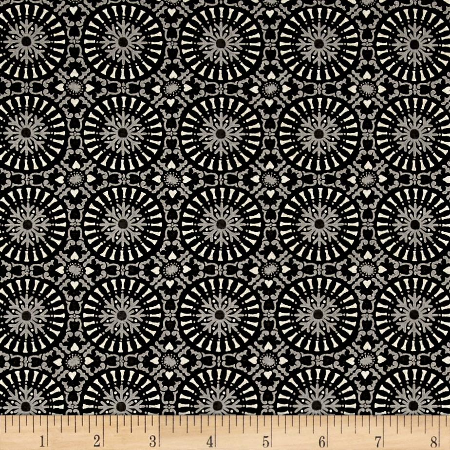 Moda Berry Merry Tile Charcoal