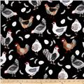 Hen Pals Hen House Black