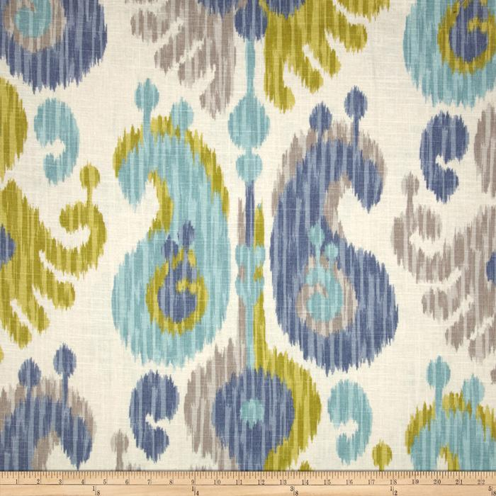 Braemore Journey Ikat Aquamarine