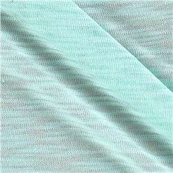Tissue Rayon Slub Jersey Knit Light Mint