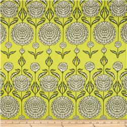 Joel Dewberry Birch Farm Home Decor Sateen Chrysanthemum Sage