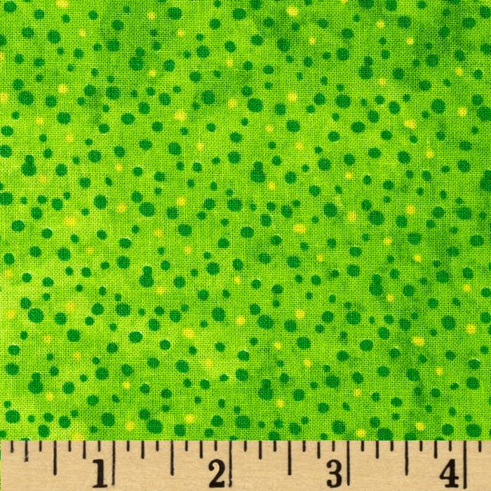 Essentials Petite Dot Lime