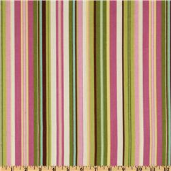 Waverly Beach Umbrella Stripe Sugarplum