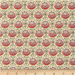 Anna Griffin Eleanor Ombre Medallion Pink