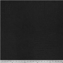 Fabricut Fenmore Faux Leather Onyx